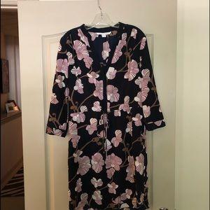 DVF 100% silk dress